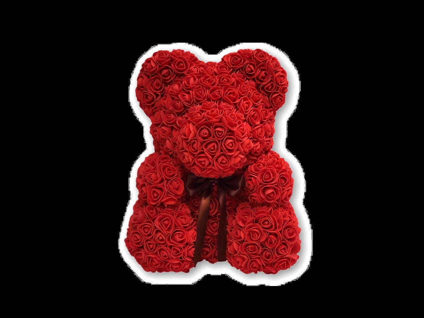 The Original Rose Bear For Birthday Graduation Wedding Flower