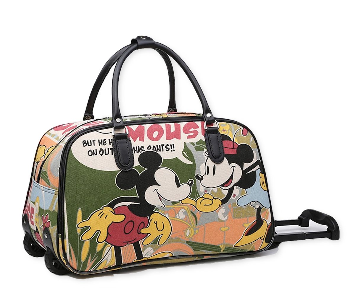 95420f852441 Details about Ladies Women Minnie Mouse Luggage Travel Bags Weekend Bag  Cabin Holdall Disney