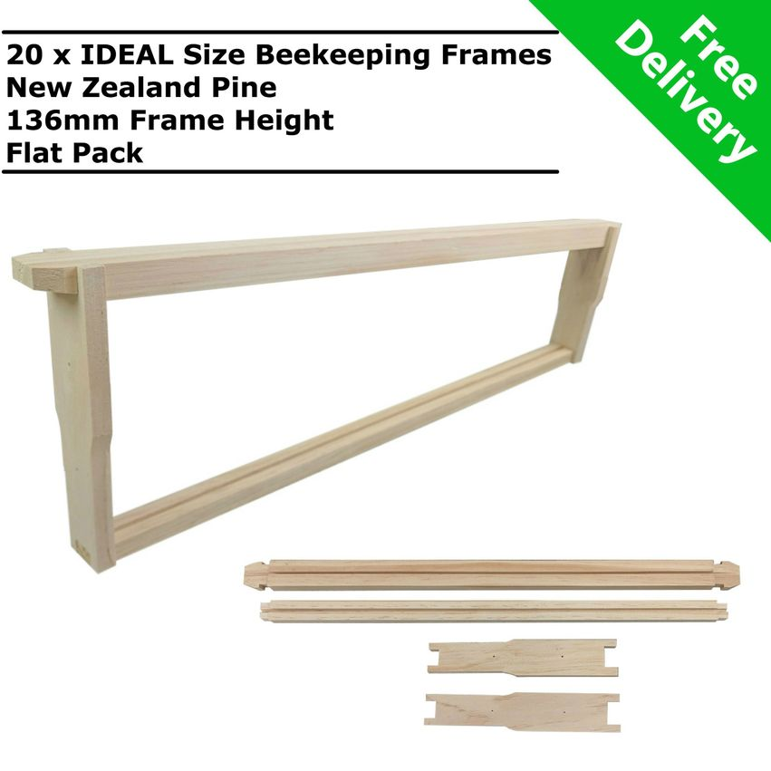 Beehive Frame Size : 1000Pcs Bee Hive Beehive Brass Nest Frame ...