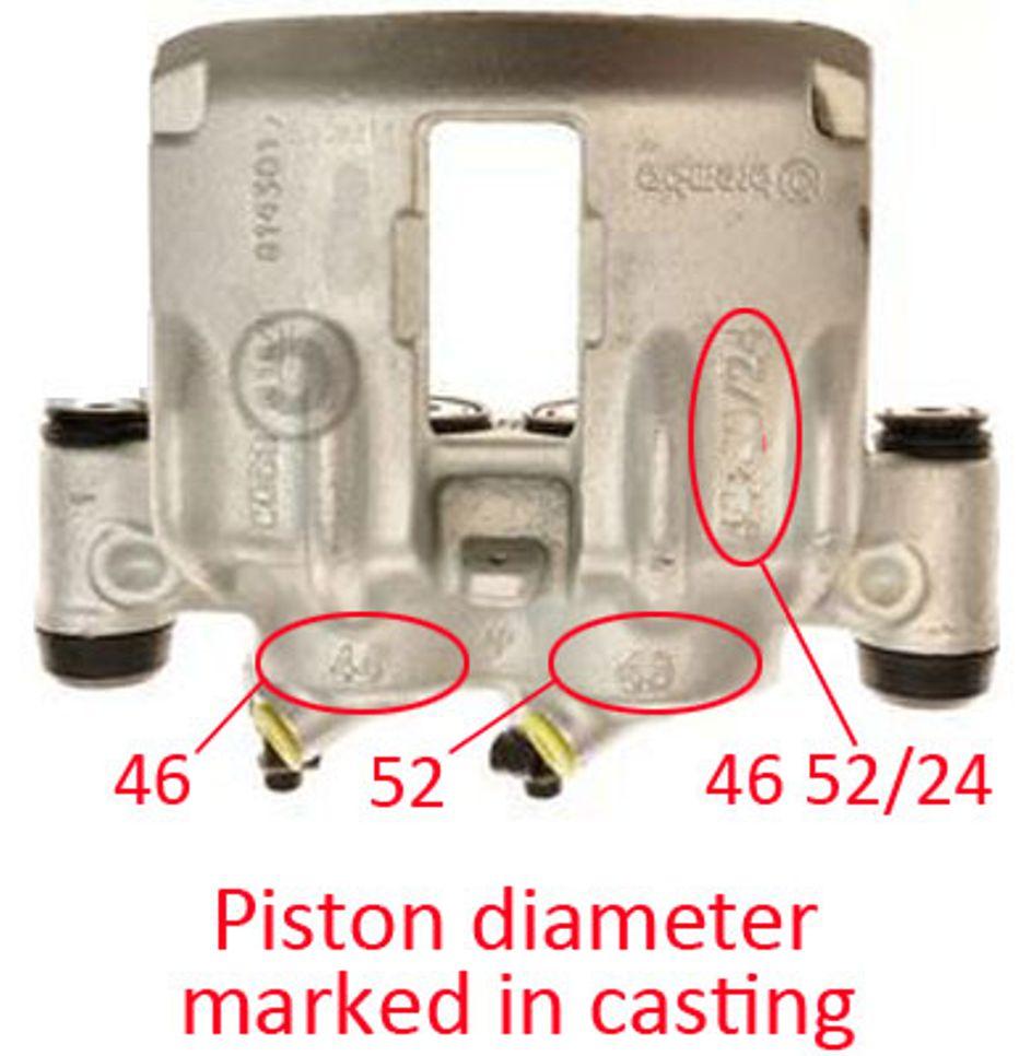 Peugeot Boxer 1800kg 2002-2006 Front brake caliper repair kit /& pistons PK237-1