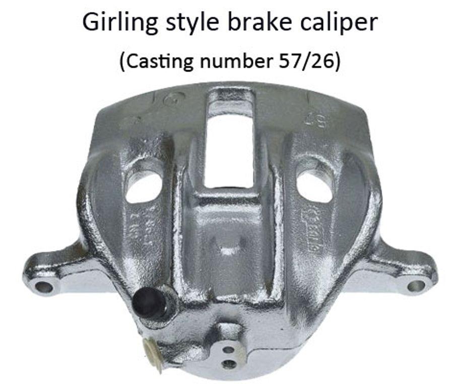 96-06 Peugeot Expert Lucas opt 1 S7036 Front brake caliper guide pin kit