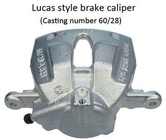 FRONT BRAKE CALIPER REPAIR KIT 60mm PISTON BCK6035E 1996-/>2007 FIAT SCUDO