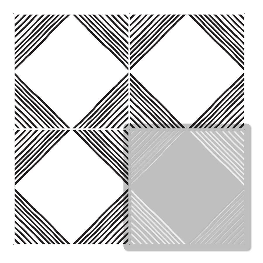 MAIOR Tile reusable PLASTIC Stencil //// Moroccan Geometric //// Floor Wall