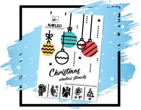 schablonen fenster malvorlagen weihnachten - kinder zeichnen und ausmalen