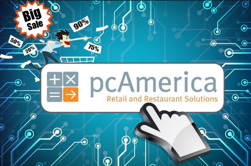 POS Software Retail & Services pcAmerica Cash Register