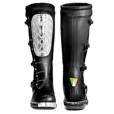 Details about Alpinestars Boots Super Victory Plated Footwear Steel Plate Off Road Black