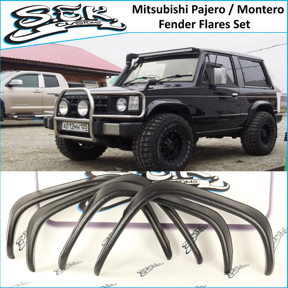 MK1 MONTERO 2-door Rear right fender flare for MITSUBISHI PAJERO