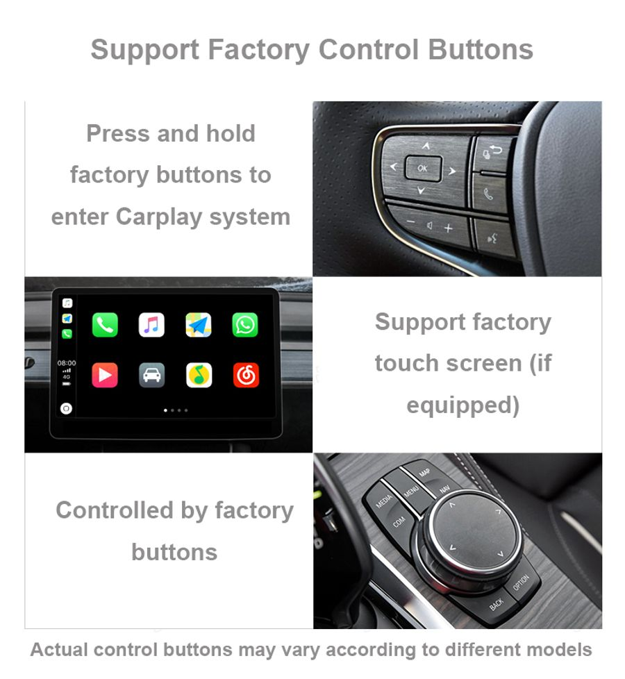 Wireless Apple Carplay Interface Module Android Auto For