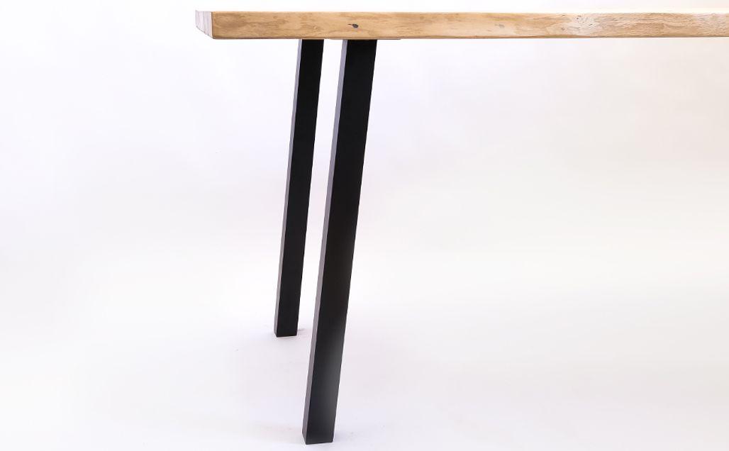 4xSTANDARD Legs eckige Tischbeine quadratisch Tischkufen ...