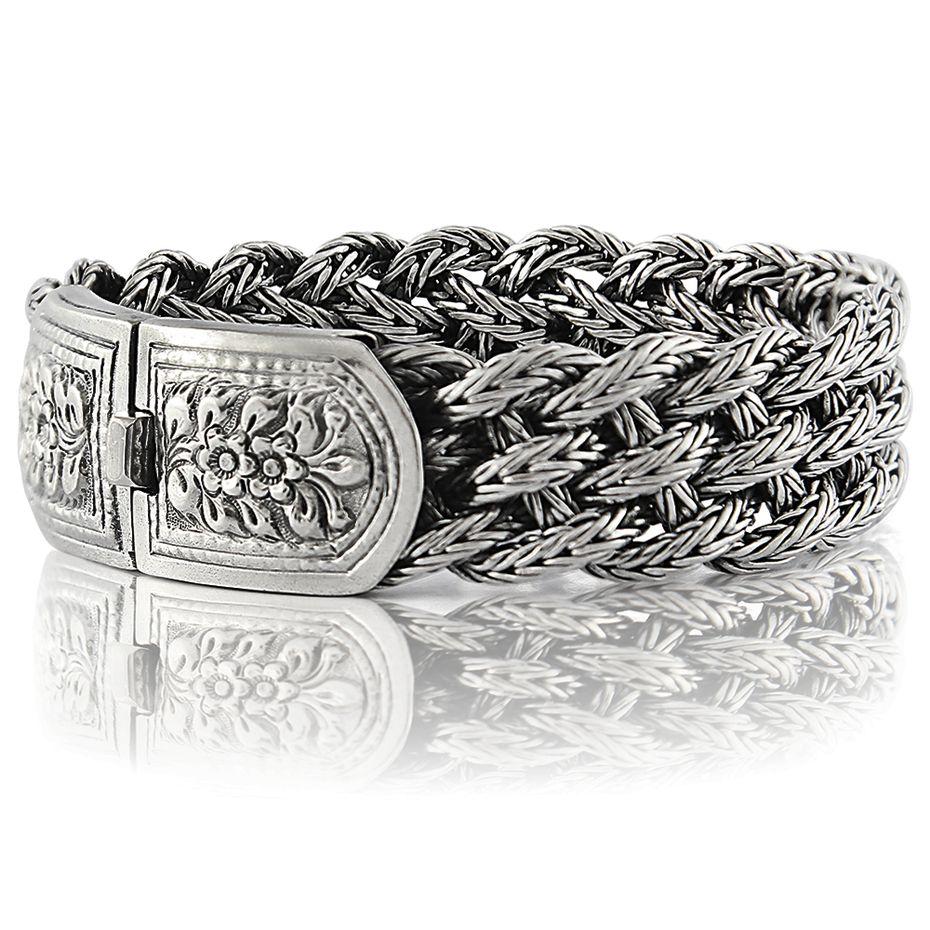 "Men Bracelet 925 Solid Sterling Silver Heavy Classic Link size 7.5 8.5 10.5 11/"""