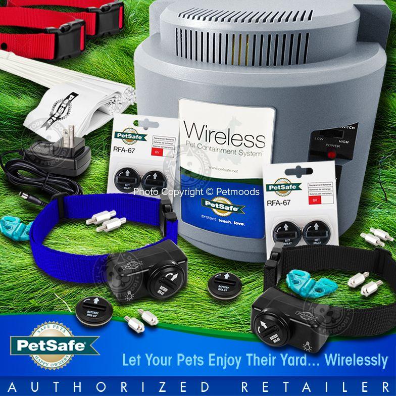 Petsafe Pif 300 Wireless Fence Pif 275 19 Blue Black