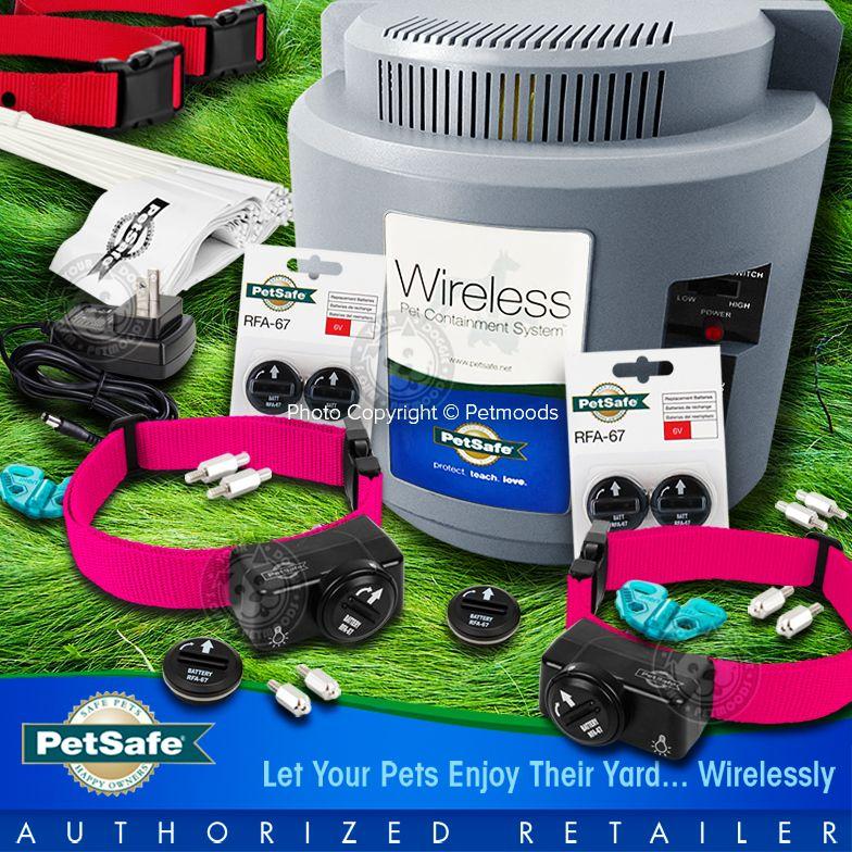 Petsafe Pif 300 2 Dog Pink Collar Pif 275 Instant Wireless