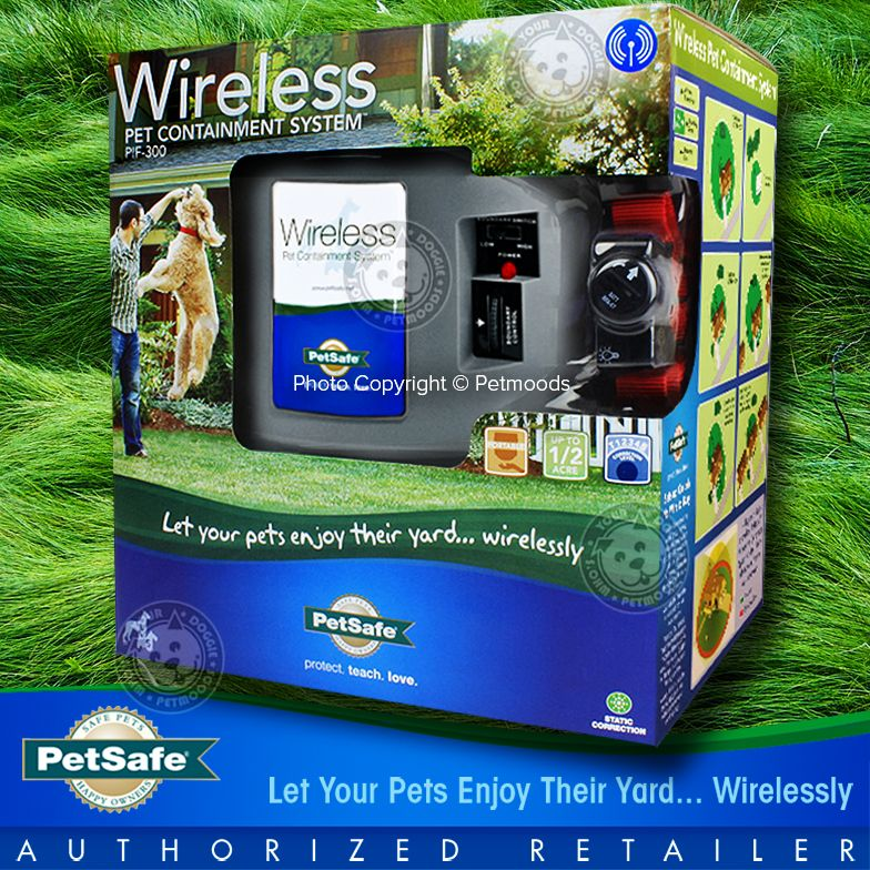 Petsafe Official Pif 300 Dog Fence Wireless Outdoor