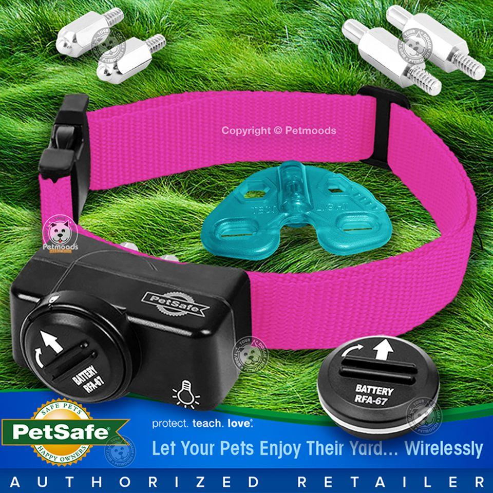 Petsafe Pif 275 19 Wireless Fence Dog Collar Receiver Pink