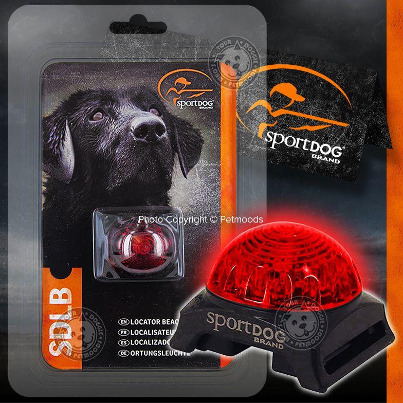 Sportdog Locator Dog Pet Collar Safety Beacon Red Light