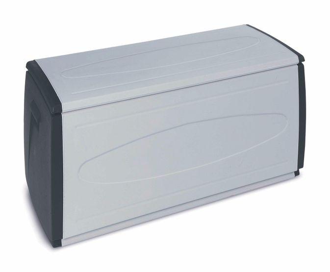 Cassapanca baule contenitore box xl in resina plastica da esterno giardino casa ebay - Cassapanca plastica da esterno ...
