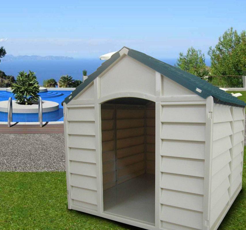 niche pour chien les grand ou couper moyenne ext rieur r sine cm 78x84x80 ebay. Black Bedroom Furniture Sets. Home Design Ideas