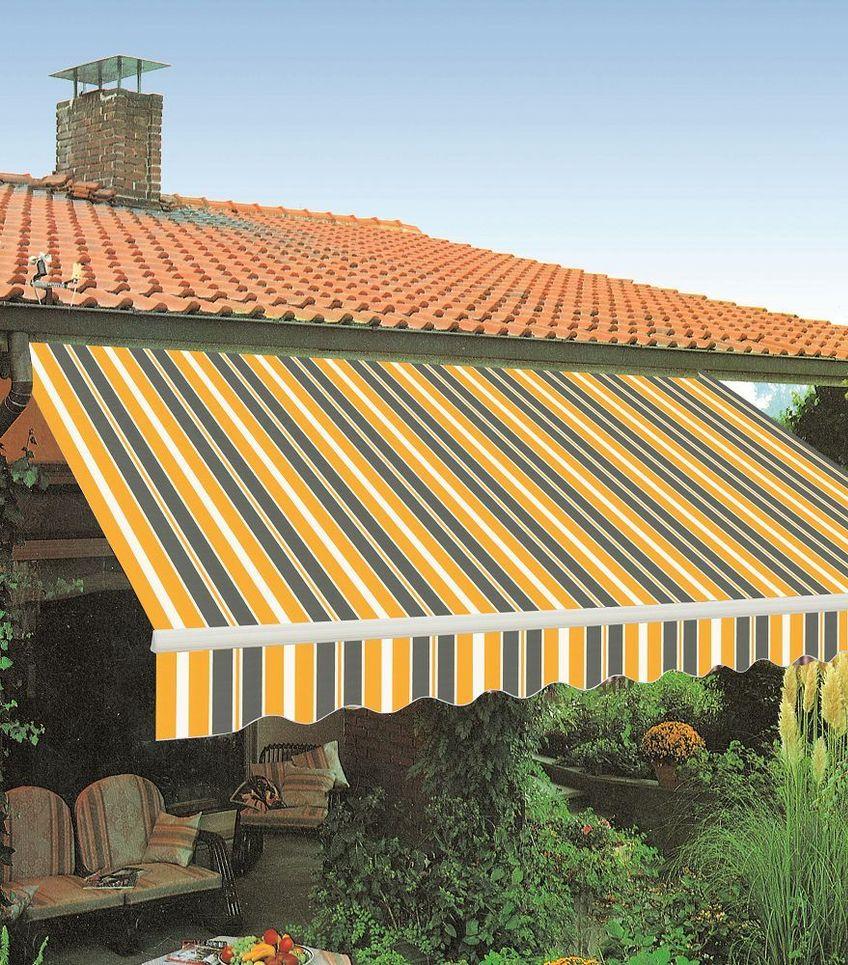 Tenda tende da sole a balcone muro bracci estensibili for Tende da sole velux