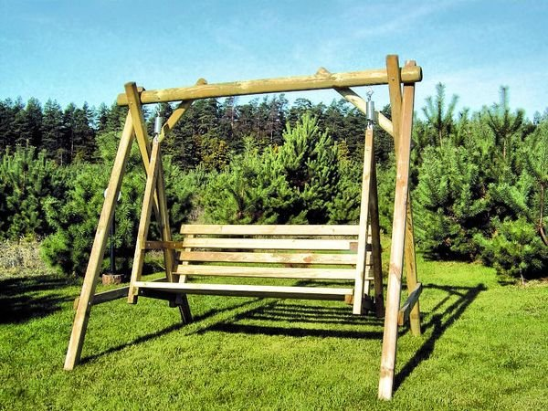 CHECO HOME AND GARDEN CHILDRENS SWING SEAT WITH HEIGHT ADJUSTABLE ROPES!