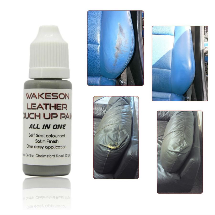 Leather Sofa Paint Kit: ALL IN ONE Leather Paint Colourant, Repair, Recolour