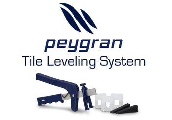 Peygran Tile Leveling System Kit 100 Clips 100 Wedges