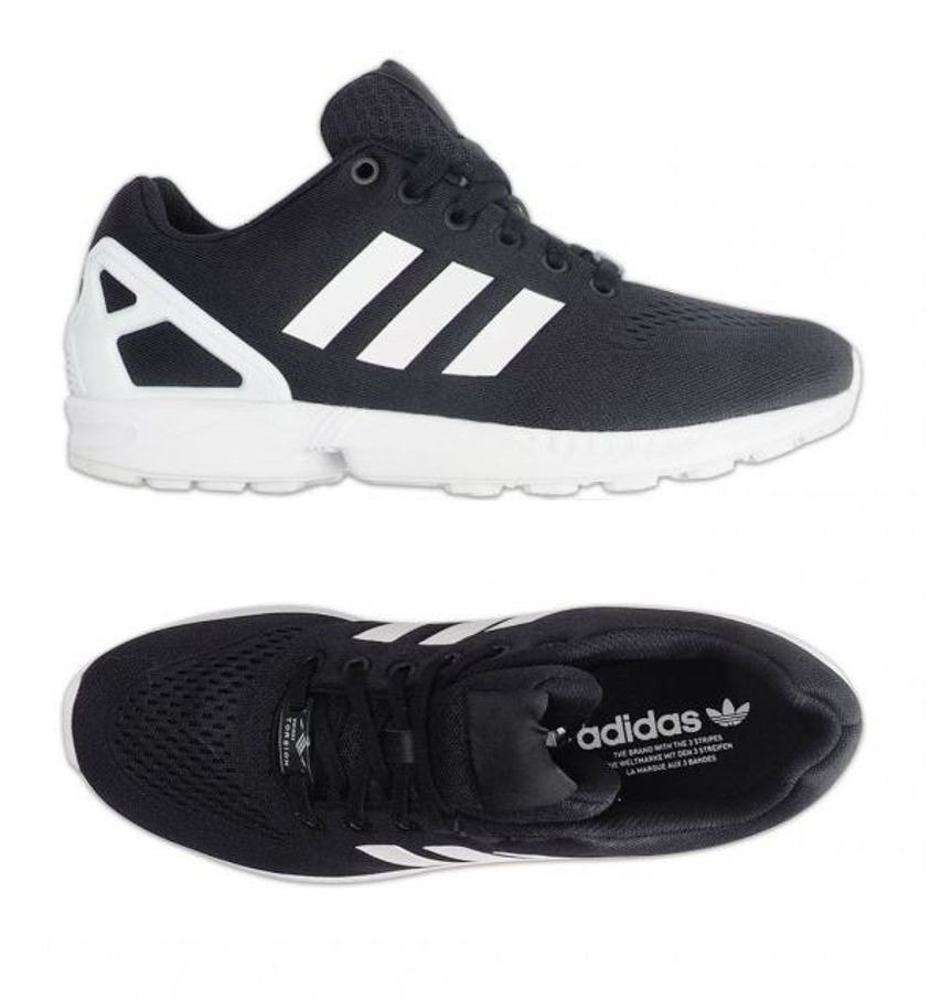 Details about Adidas Originals ZX FLUX EM Running Shoes (S76499) Trainers Sneakers