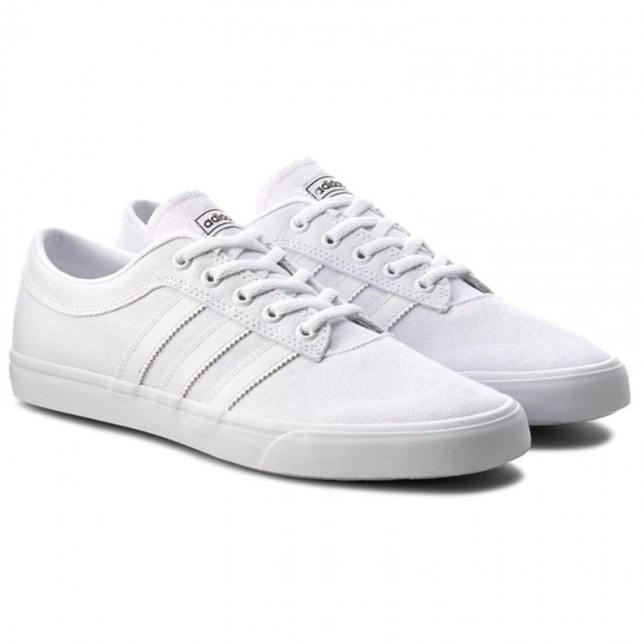 21989dc112b Details about Adidas Originals Sellwood (BB8691) Athletic Sneakers  Skateboard Shoes White