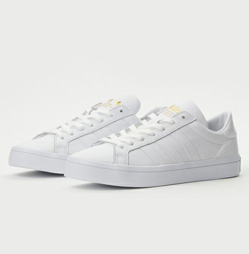 adidas court vantage blancos