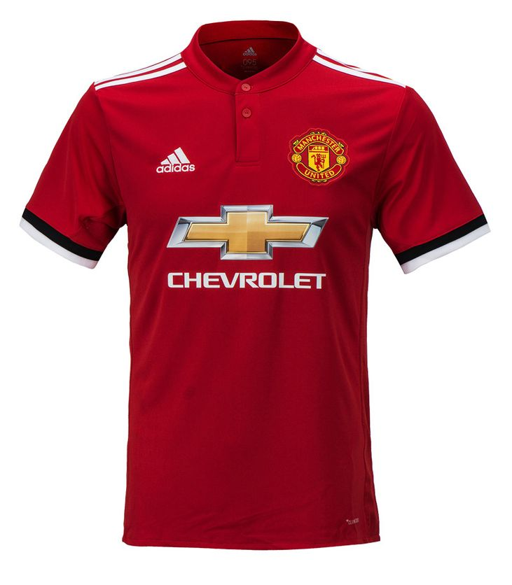 reputable site 3b5e4 2c10c Details about Adidas 17-18 Manchester United Home Jersey (BS1214) Man Utd  Team Uniform Top