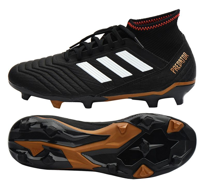 Details about Adidas PREDATOR 18.3 FG (CP9301) Soccer Cleats Football Shoes  Boots Black 0c3ef1e1132df