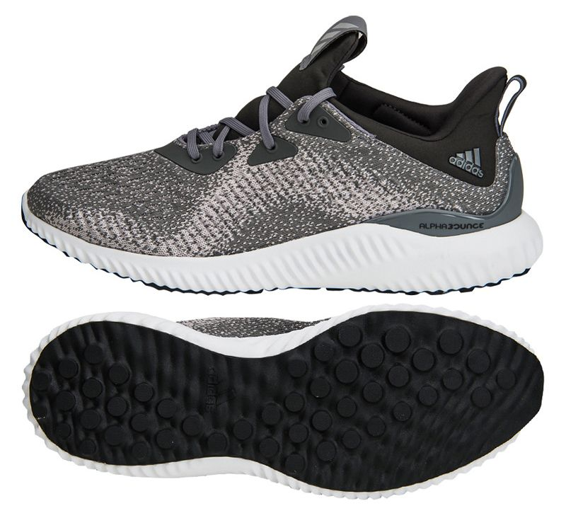 9ced150077f1e Adidas Alpha Bounce EM (DB1091) Running Shoes Athletic Sneakers ...