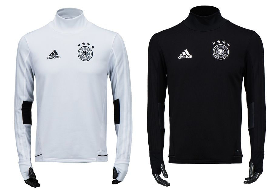 Details about Adidas Germany DFB Training Top (B10557 B10558) Soccer Football Pullover Shirt