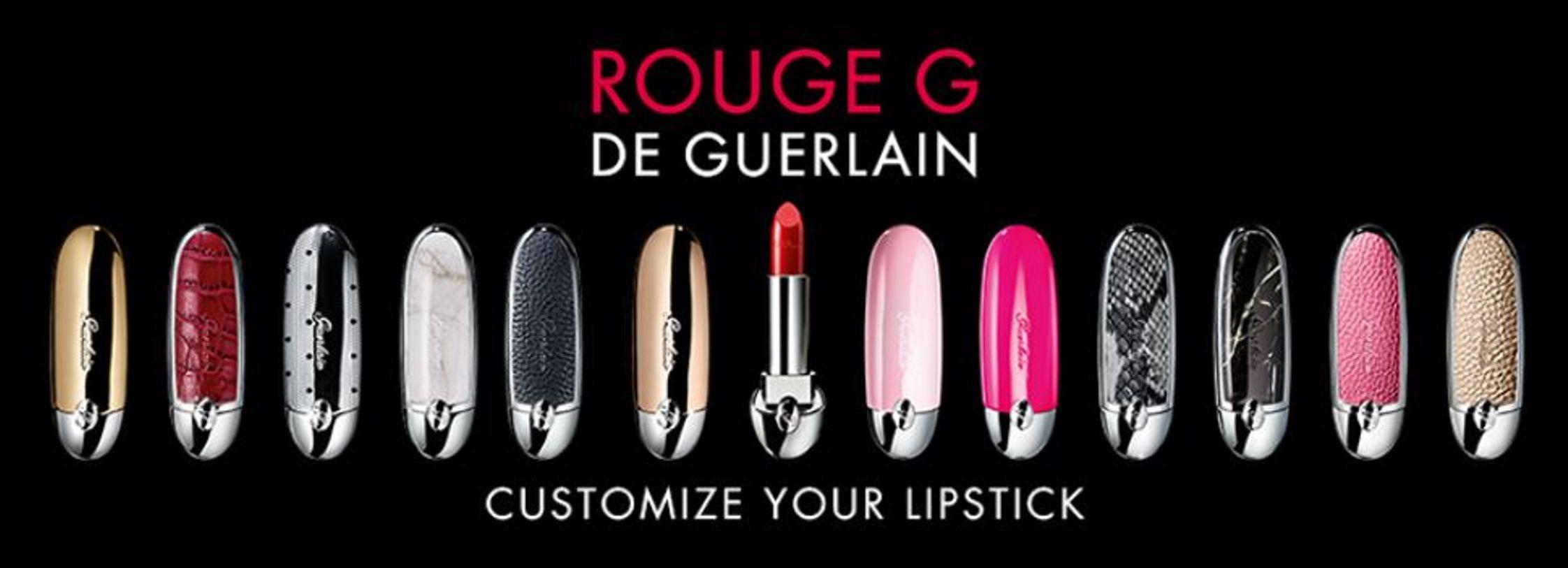 Guerlain Rouge G De Guerlain Customize Your Lipstick Only ...