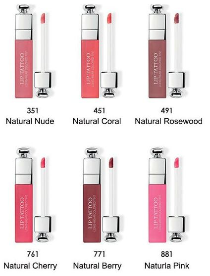 Details About Dior Addict Lip Tattoo Long Wear Colored Tint 6 Ml 02 Oz 6 Colors