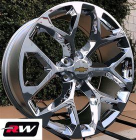 "20 inch Chevy Silverado Snowflake 6x5.50"" OE Factory ..."