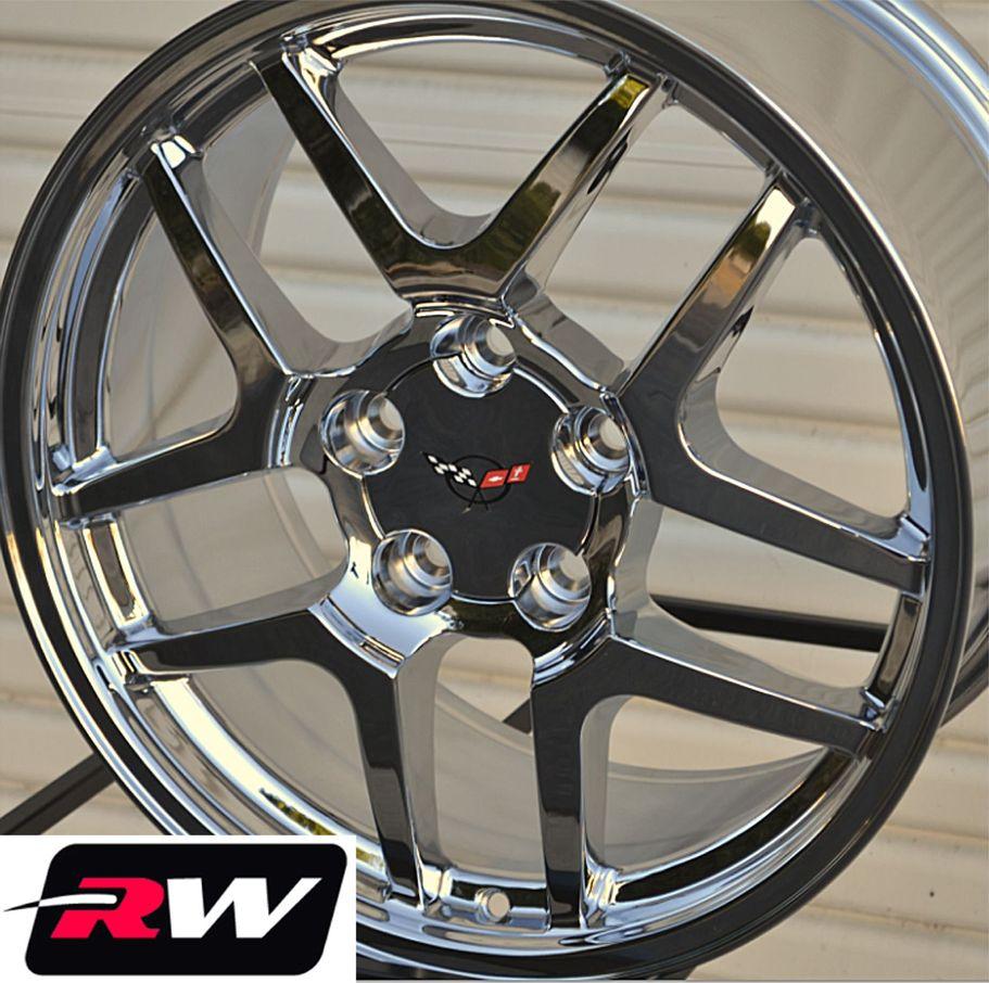 Corvette Wheels 2001 C5 Z06 Chrome Rims 17 18 Inch Fit