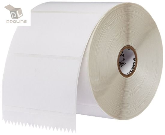 375 Labels Per Roll 8 Rolls 4x4 Direct Thermal Labels For Zebra Printers