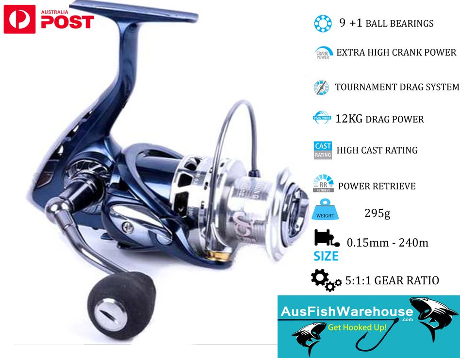 Fishing Reel 2000 Size Best Value Spin Reels Big Brand