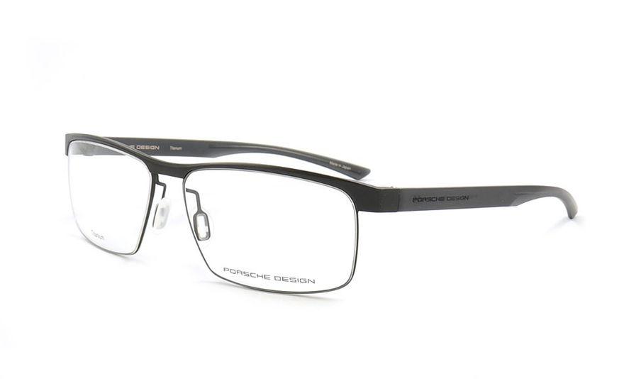 684d3fbe5de Porsche Design Titanium Eyeglasses P8288 A Black 58-15 - Men s ...