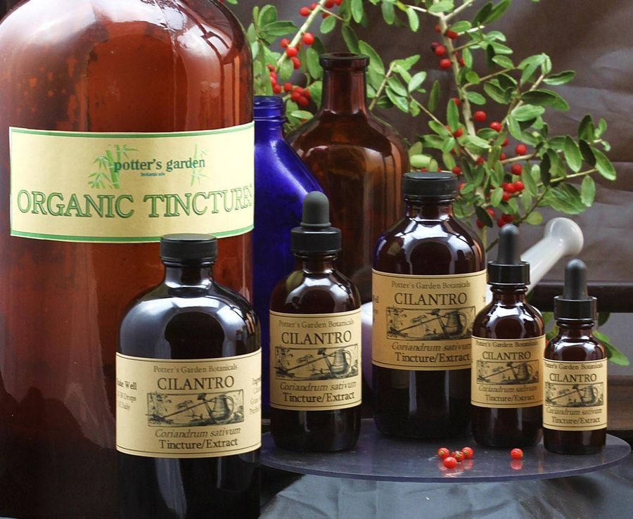 Details about CILANTRO Extract antiviral heavy metal cleanse HDL Organic  Folk Remedy Tincture