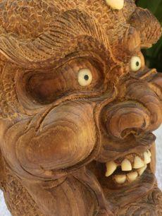 Head of Devil Satan Skull Evil Handcarved Evil Gothic Odditie Detailed Mephisto