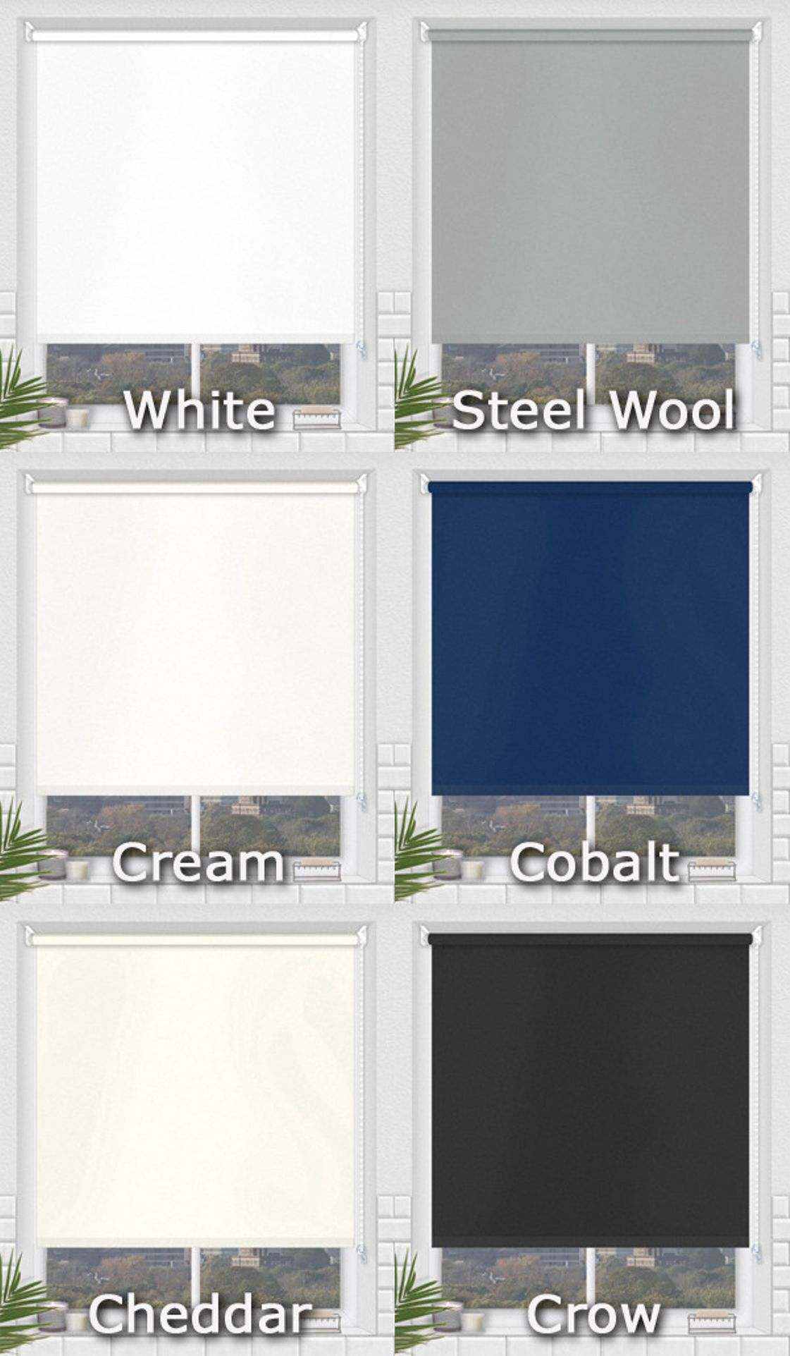Waterproof Bathroom Roller Blinds Pvc Fabric Blinds For Wettest Of