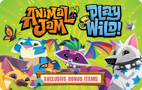 Image of: Game Details About Animal Jam Digital Gift Card Fast Email Delivery Target Animal Jam Digital Gift Card Fast Email Delivery Ebay