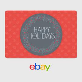 eBay Digital Gift Card - Holiday Designs - Email Delivery | eBay