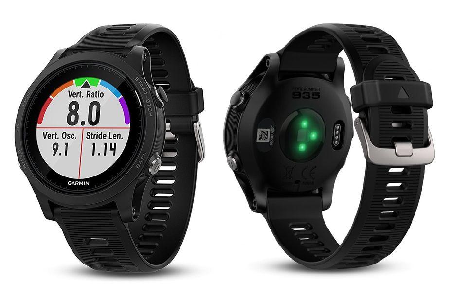 moda más deseable liberar información sobre elegir original Detalles de Garmin Forerunner 935 GPS Triatlón Smartwatch HRM Pulsometro  Reloj Negro/Gris