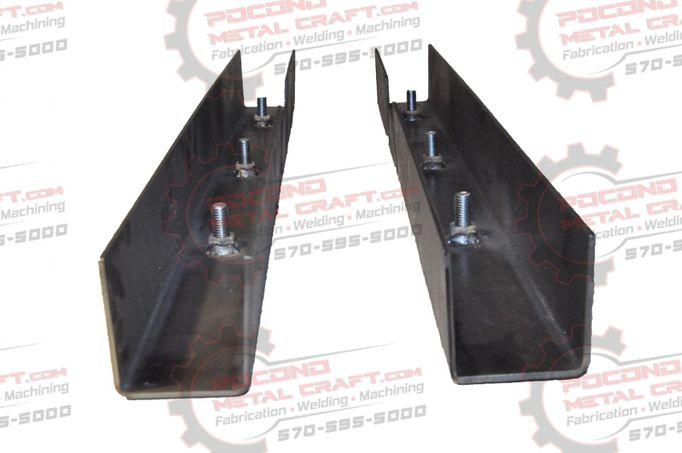 Yj Set Center Skid Plates Rust Repair Frame Rh Lh 1987