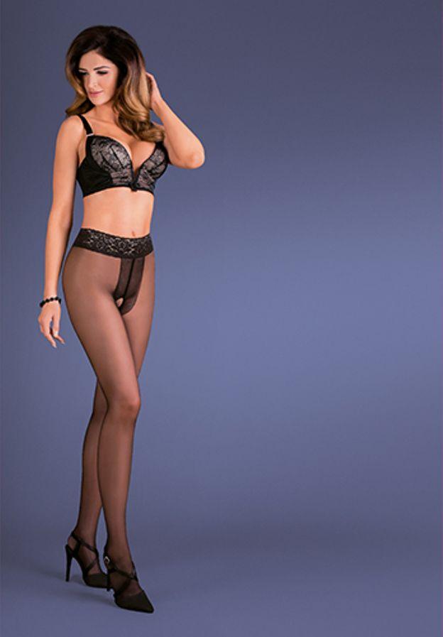 XXXL 20 Den Ribensa Gabriella Plus Size Sheer Tights size XXL