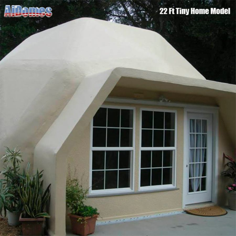 Dome Home Kits And Plans: Geodesic Tiny Dome Home