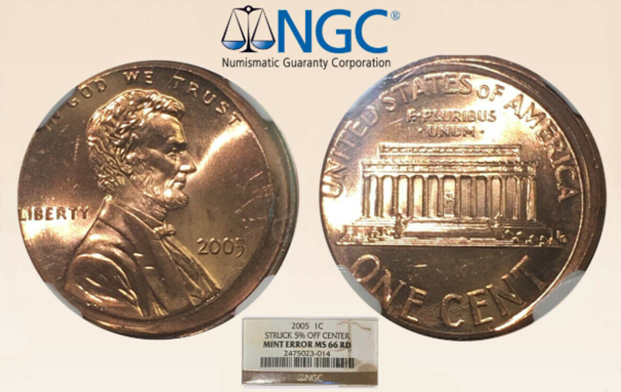2005 D Lincoln Cent 1c PCGS MS66RD Business Strike
