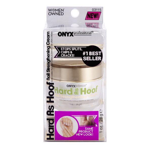 Hard as Hoof Nail Strengthening Cream 1oz Nail Strengthener | Onyx ...